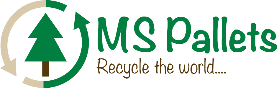 MS Pallets logo