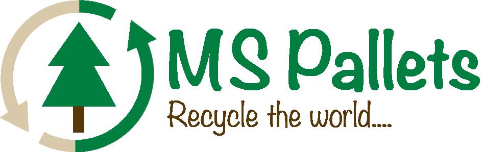 MS Pallets logo